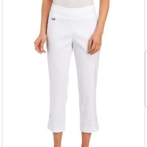 Peck&Peck Plus Size Zoe Crop Pants NWT